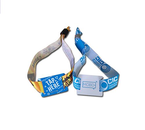 RFID织物手腕带